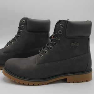 Lugz Convoy Charcoal 6 inch Boot